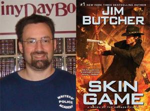 Jim Butcher Photo and Book 06012014